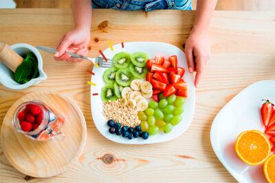 5 hábitos saludables de alimentación