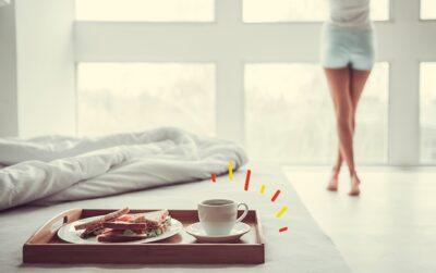 Desayunar antes de entrenar