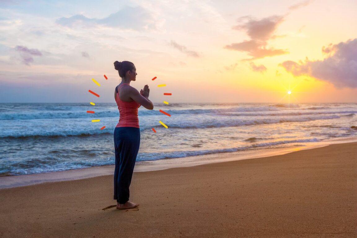postura para iniciarse en el yoga
