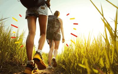 Actividades al aire libre, potenciar vitalidad