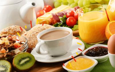Desayunos saludables - guía de planificación