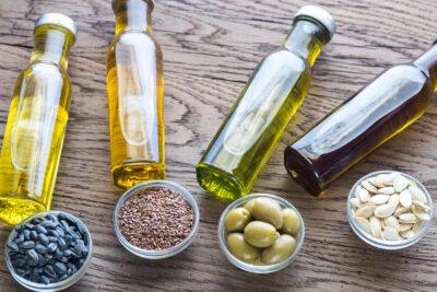 Los aceites vegetales son ricos en omega 3