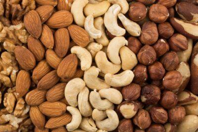 Alimentos con omega 3: frutos secos