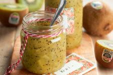 Mermelada de kiwi para sentirte más vital a cualquier hora del día