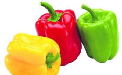 alimentos con vitamina c: pimientos