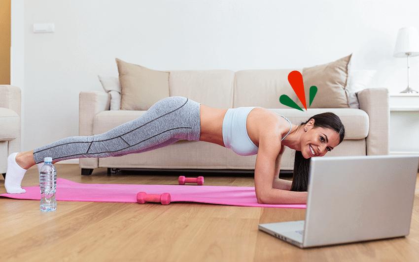 Impulsa tu vitalidad con estos 5 ejercicios de planchas abdominales