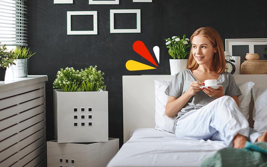¿Es sano dormir con plantas en nuestra habitación?