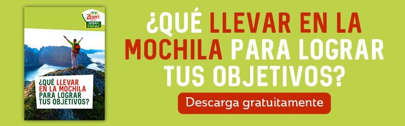 Banner infografía Objetivos Mochila