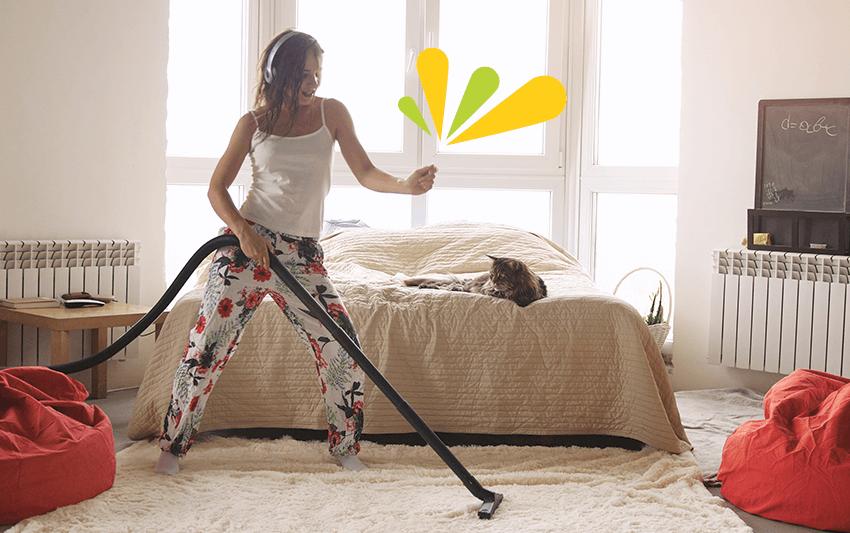 organiza las tareas del hogar de manera óptima